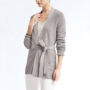 Banana Republic Ribbed Belted Cardigan | SP